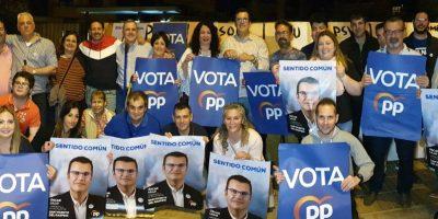 El Partido Popular inicia la campaña electoral con el reto de explicar su proyecto para San Vicente vecino a vecino