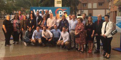 El Partido Popular cierra la campaña electoral con una fiesta en la plaza Maestro Joaquín Rodríguez