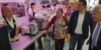El candidato popular buscará financiación europea y de otras administraciones para las inversiones de San Vicente